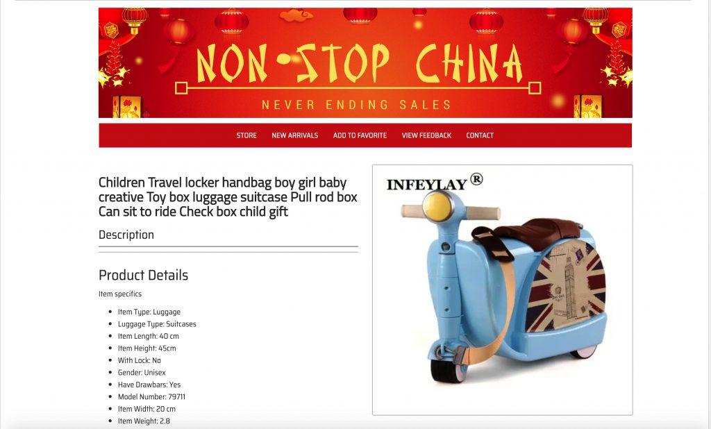 dropshipping China template