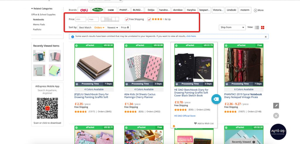 How to Choose A Good Supplier On AliExpress? | AutoDS Automatic