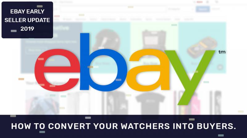 eBay Seller Update 2019