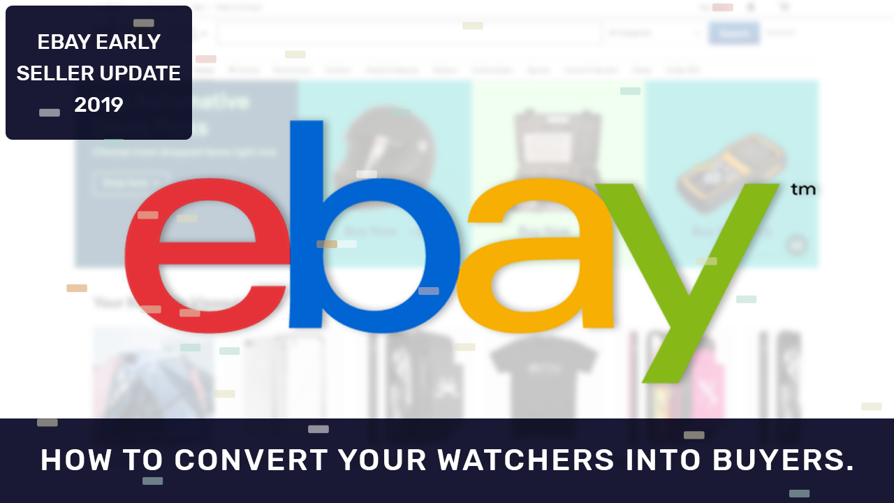 eBay Seller Update 2019