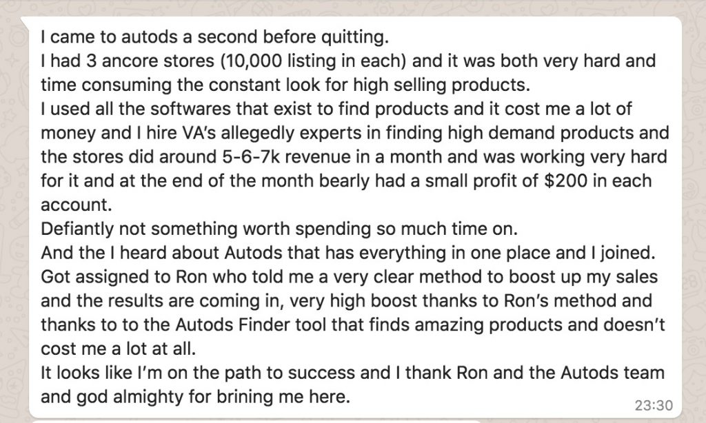 eBay dropshipping success story