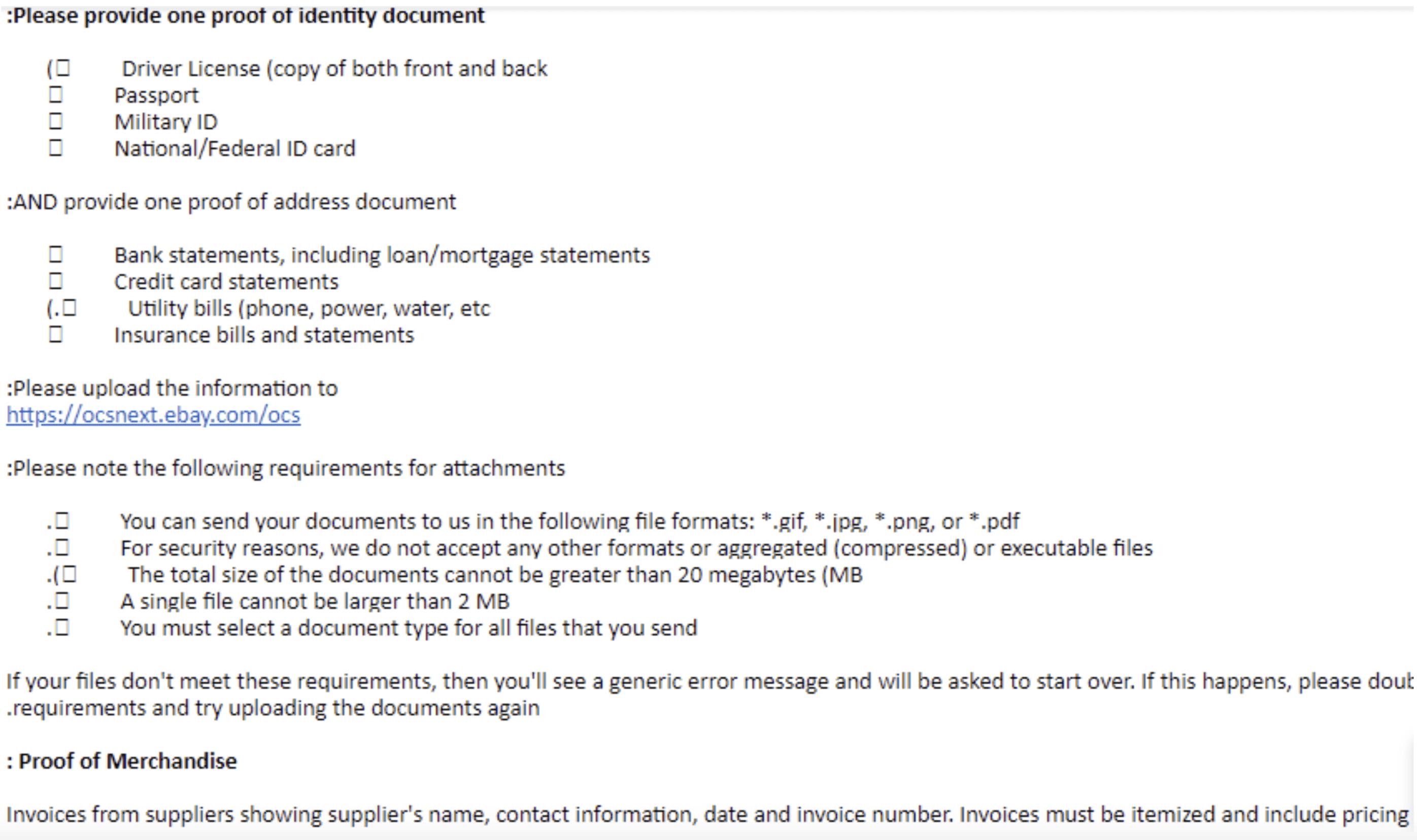 eBay restriction MC011 - Will I get my account back? (Full