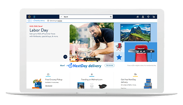 Dropshipping from Walmart to eBay