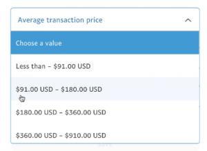 Average-Transaction-Price-Setting
