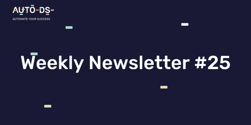 Weekly Newsletter 25