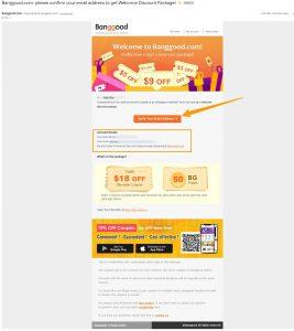 How to Verify Banggood Account
