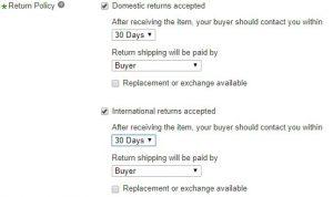 eBay Dropshipping Policy for Banggood