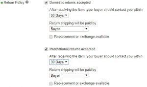 AliExpress to eBay Dropshipping Policy