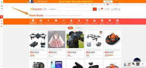 Dropshipping AliExpress Flash Deals Products