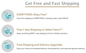 Wayfair Free and Fast Shipping
