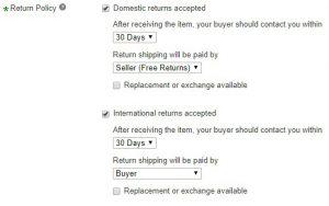 WayFair to eBay Dropshipping Policies
