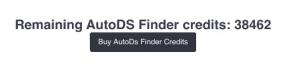 AutoDS-Finder-Credits
