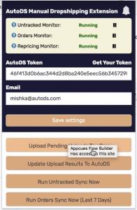 AutoDS-Non-API-Solution
