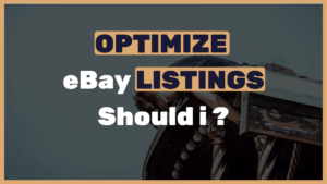 Optimize eBay Listings