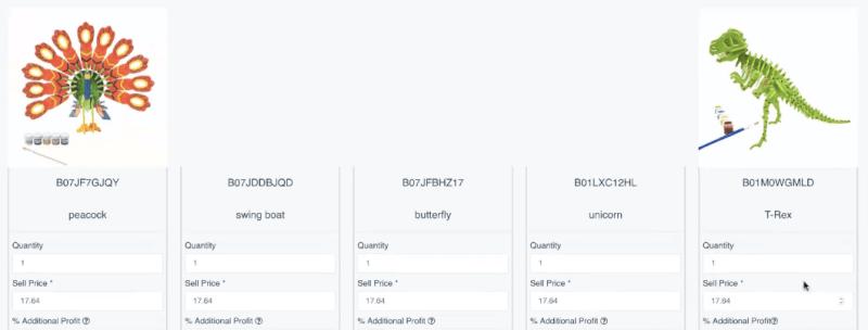 Tracking eBay variations listings