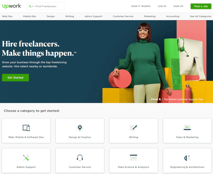 How to use Upwork
