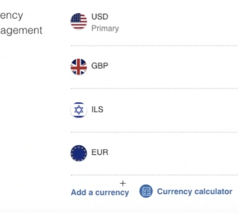 Add new currencies to PayPal