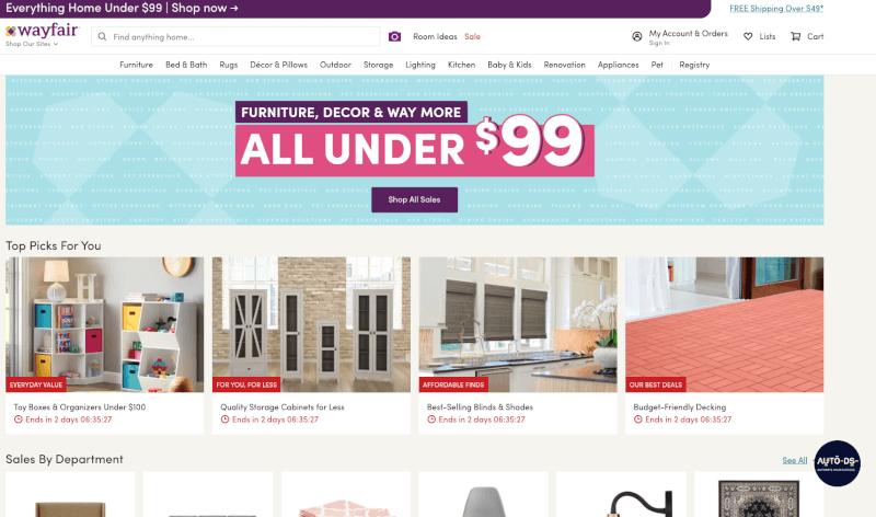 Wayfair To eBay Dropshipping