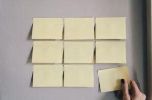 organizing to do list