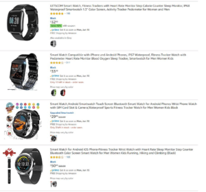 dropshipping smart watches on eBay
