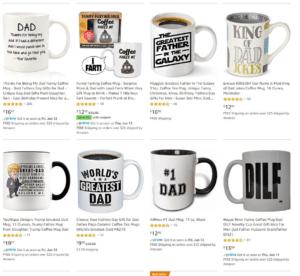selling mugs as a dropshipper