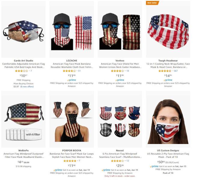 dropshipping bandanas and face masks