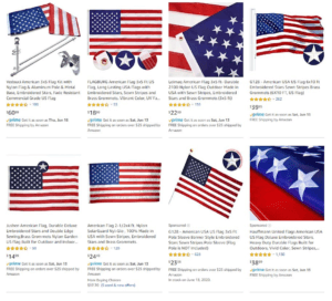 USA Flags for dropshipping