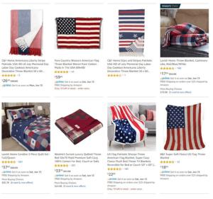 Patriotic Blankets