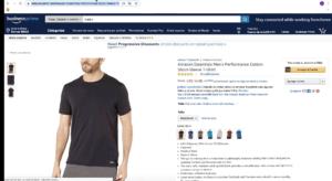 random product from amazon : t-shirt