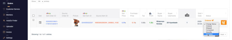 ebay profit calculation