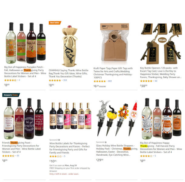 dropshipping wine related products