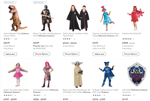 Holiday Costumes