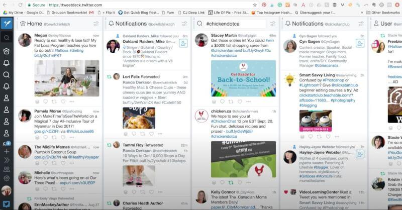 free social media dashboard