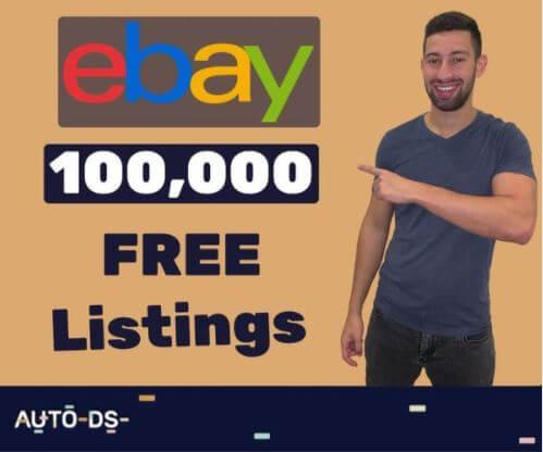 100,000 free ebay listings