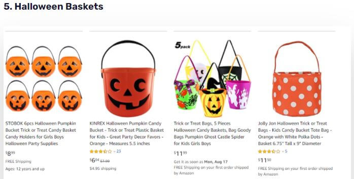 Halloween dropshipping products
