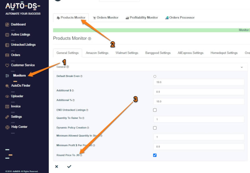 set up bulk price editing for your listings when doing ebay bulk uploading methods