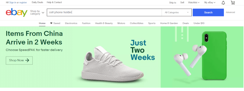 trick to finding ebay keywords for product titles