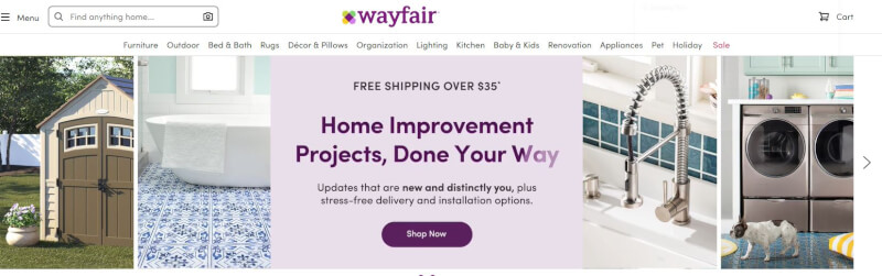 wayfair ameircan supplier
