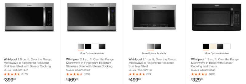 Microwaves & Accessories