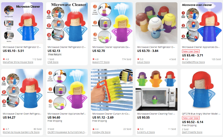 dropshipping Microwave Cleaners for kitchen