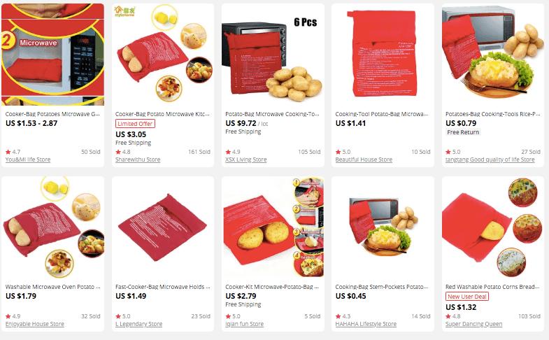 Potato Bag kithcne product