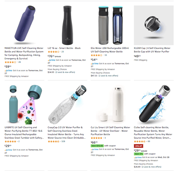 dropshipping Self Cleaning Water Bottle