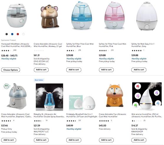 dropshipping Baby Humidifier