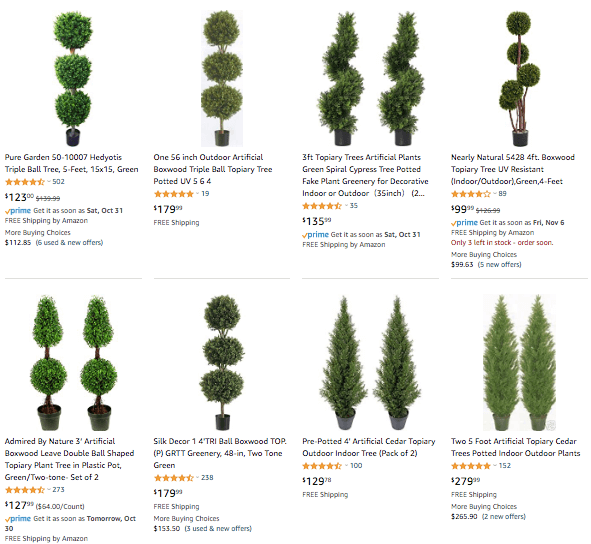 dropshipping-Topiary-Tree