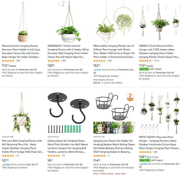 Dropshipping Hanging Planter