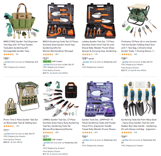 dropshipping Gardening Tool Kit