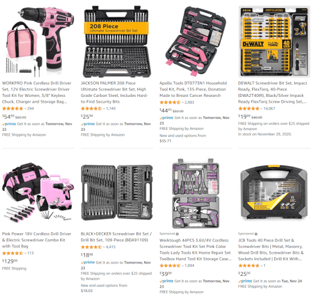 dropshipping Drill And Screwdriver Tool Sets