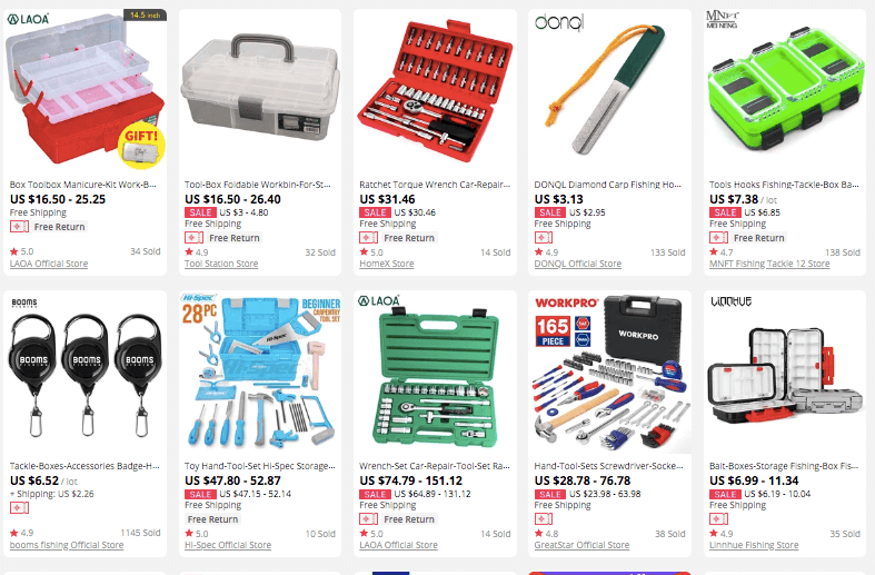 dropshipping Tool Boxes