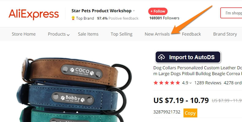 new arrivals aliexpress product finding