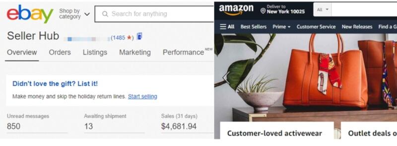 amazon ebay dropshipping pros cons